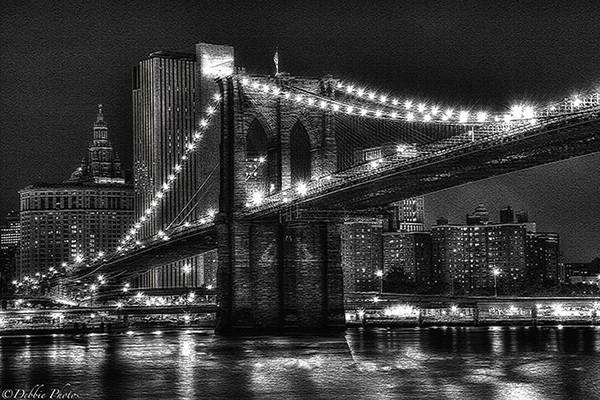 Brooklyn Bridge on Canvas