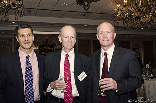 Charlie Colella, George Layburn and Russell Bailey