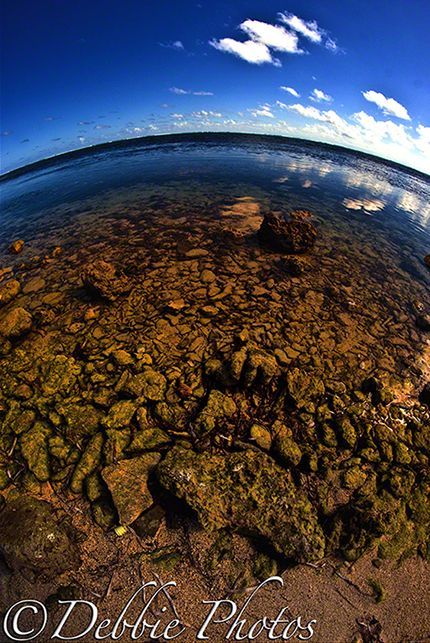 Fisheye Beach